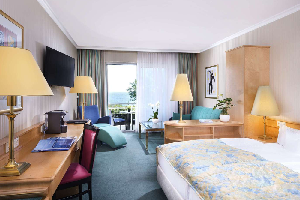 Hotelzimmer im Hotel Kaiserhof Heringsdorf