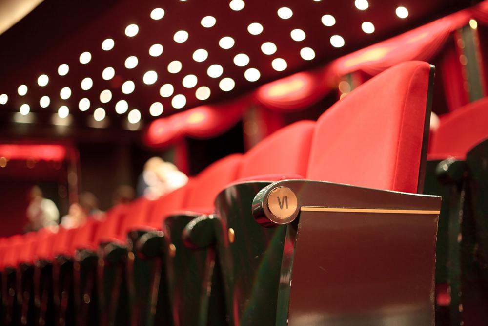 Kino im Kaiserbädersaal im Hotel Kaiserhof Heringsdorf