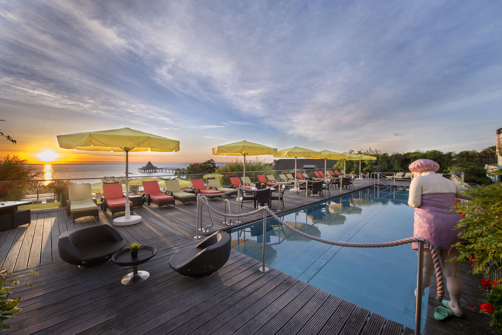 Das 7 Nächte Urlaubsangebot Ostseeinsel entdecken im Hotel Kaiserhof Heringsdorf buchen