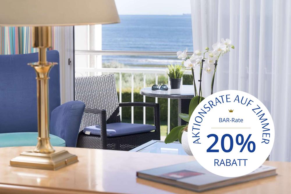 Hotelzimmer mit Aktionsrate für den Usedom Urlaub 2022 im Hotel Kaiserhof Heringsdorf buchen