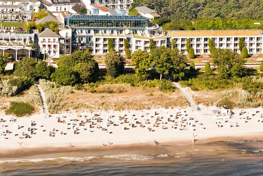 Angebot für Urlaub 2022 mit Meerblick im Hotel Kaiserhof Heringsdorf auf Usedom